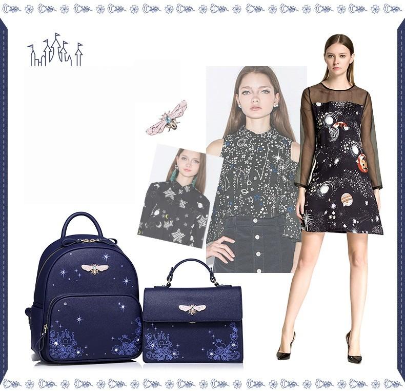 Là mẫu túi thiết kế của thương hiệu JUST STAR
