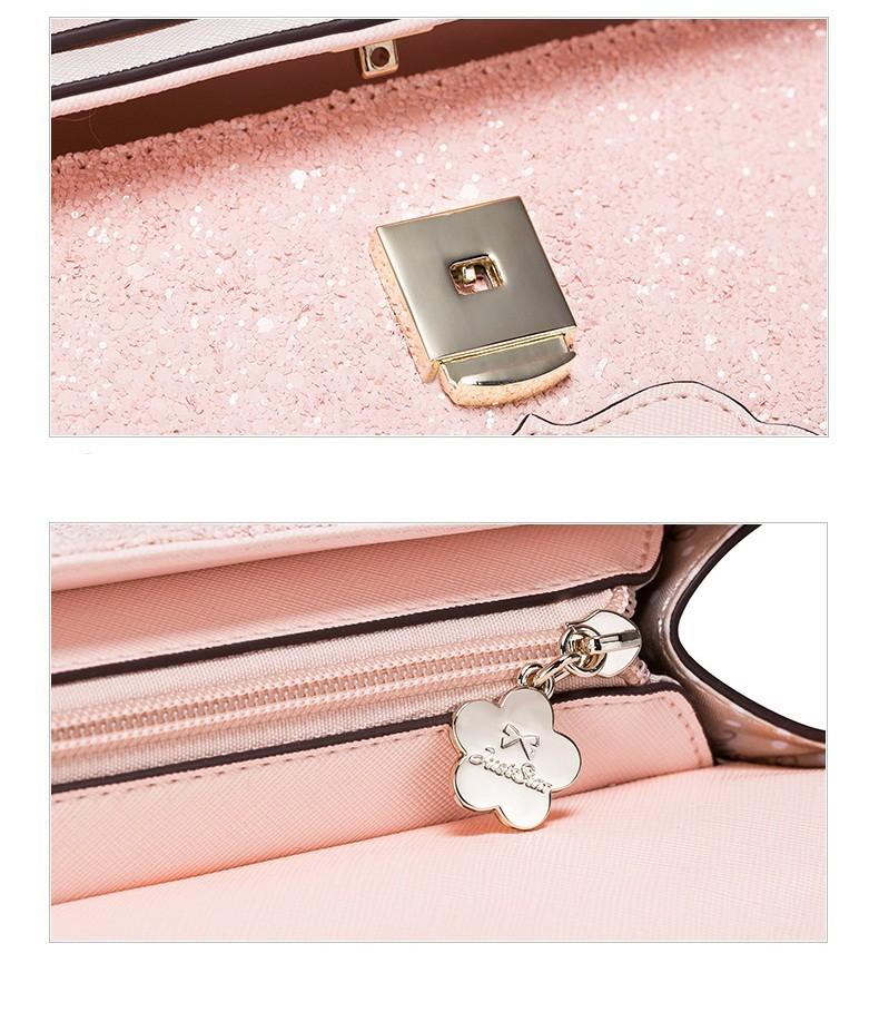Hình ảnh chi tiết từng bộ phận của túi xách VG142