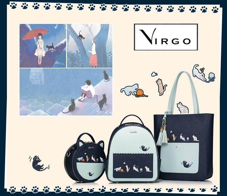 Chiếc túi là mẫu thiết kế riêng cùng đồng bộ với balo và túi cỡ lớn