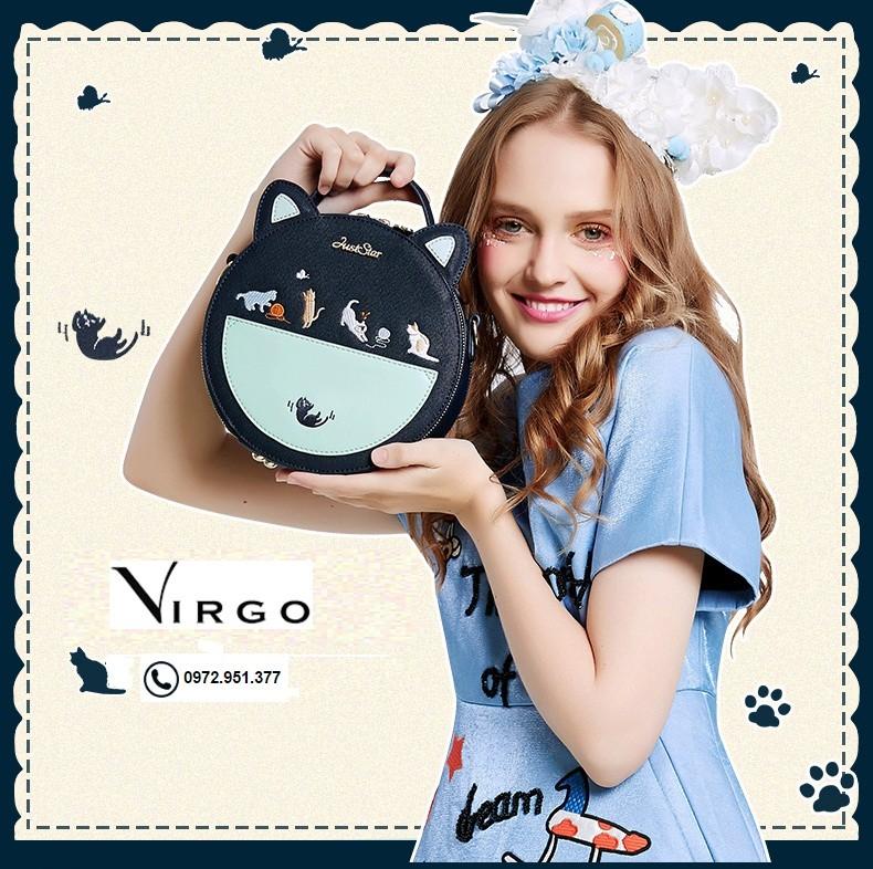 Túi xách đeo chéo hình tròn VG180