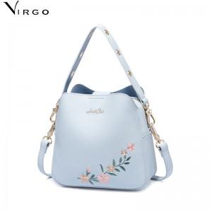 Túi nữ thời trang Just Star thêu hoa VG374