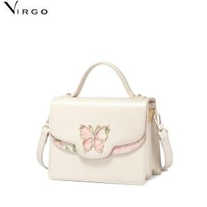 Túi xách nữ in hoa và con bướm VG398