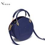 Túi đeo chéo nữ thời trang dáng tròn Nucelle Virgo VG454