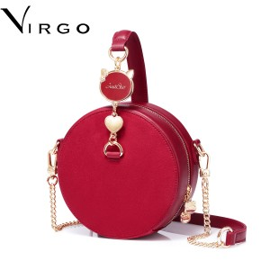 Túi đeo chéo nữ hình tròn Just Star Virgo VG457