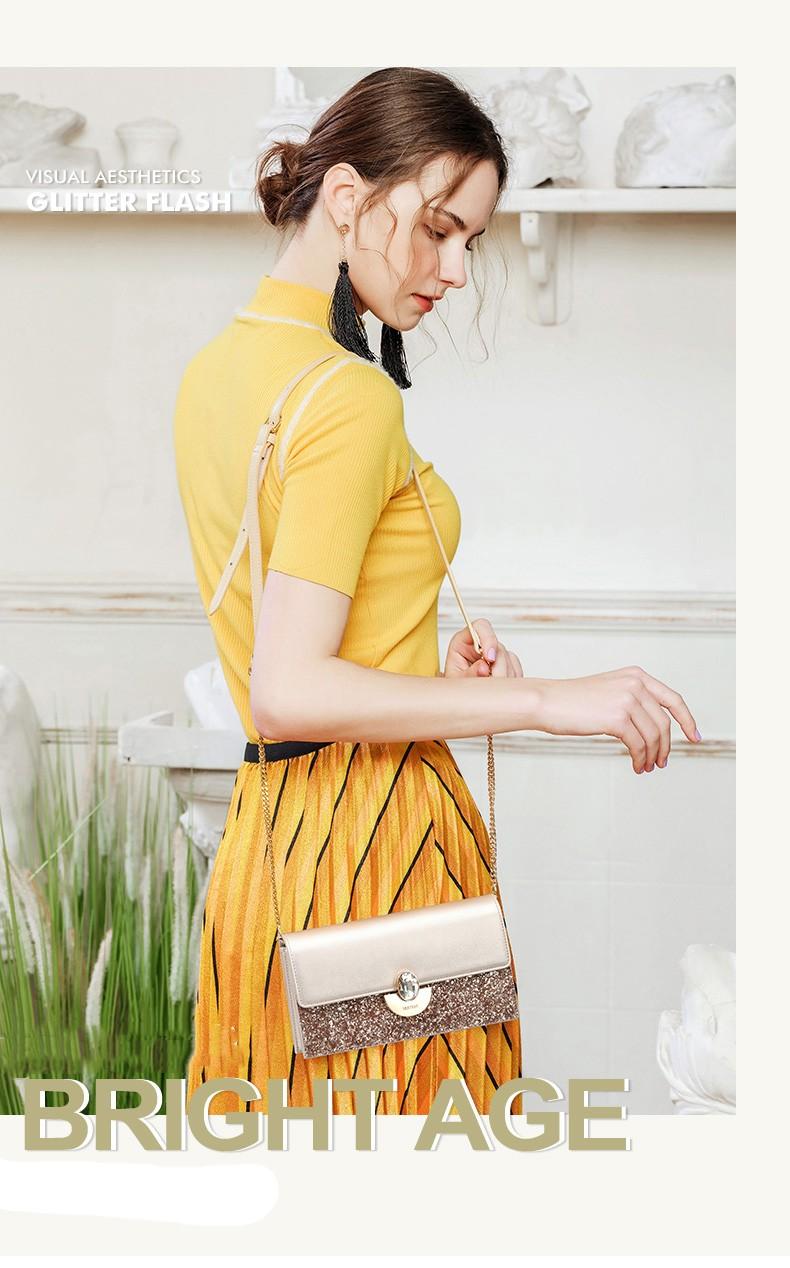 Túi đeo chéo nữ thời trang Nucelle Virgo VG493