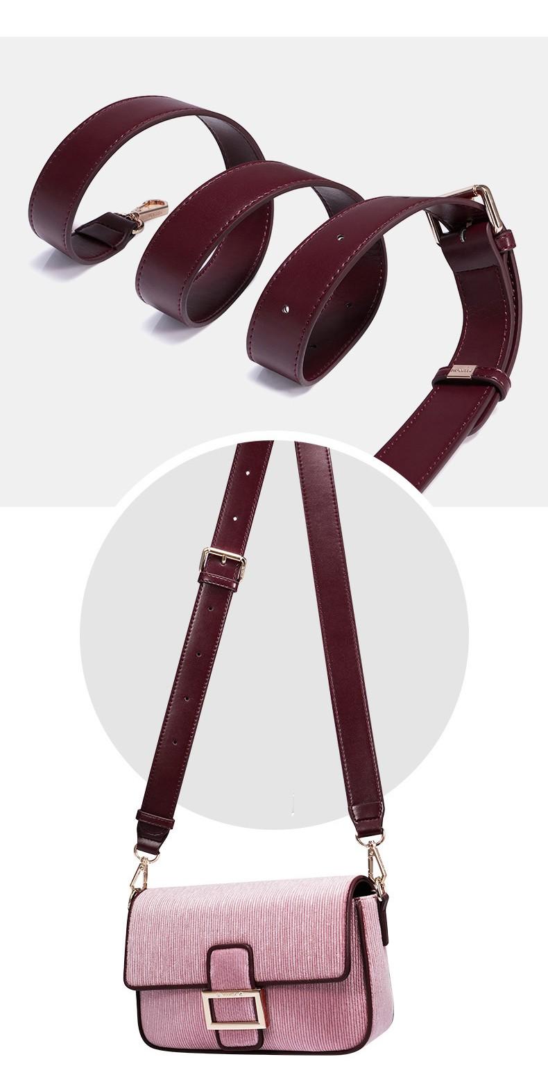 Túi đeo chéo nữ thời trang Nucelle Virgo VG528