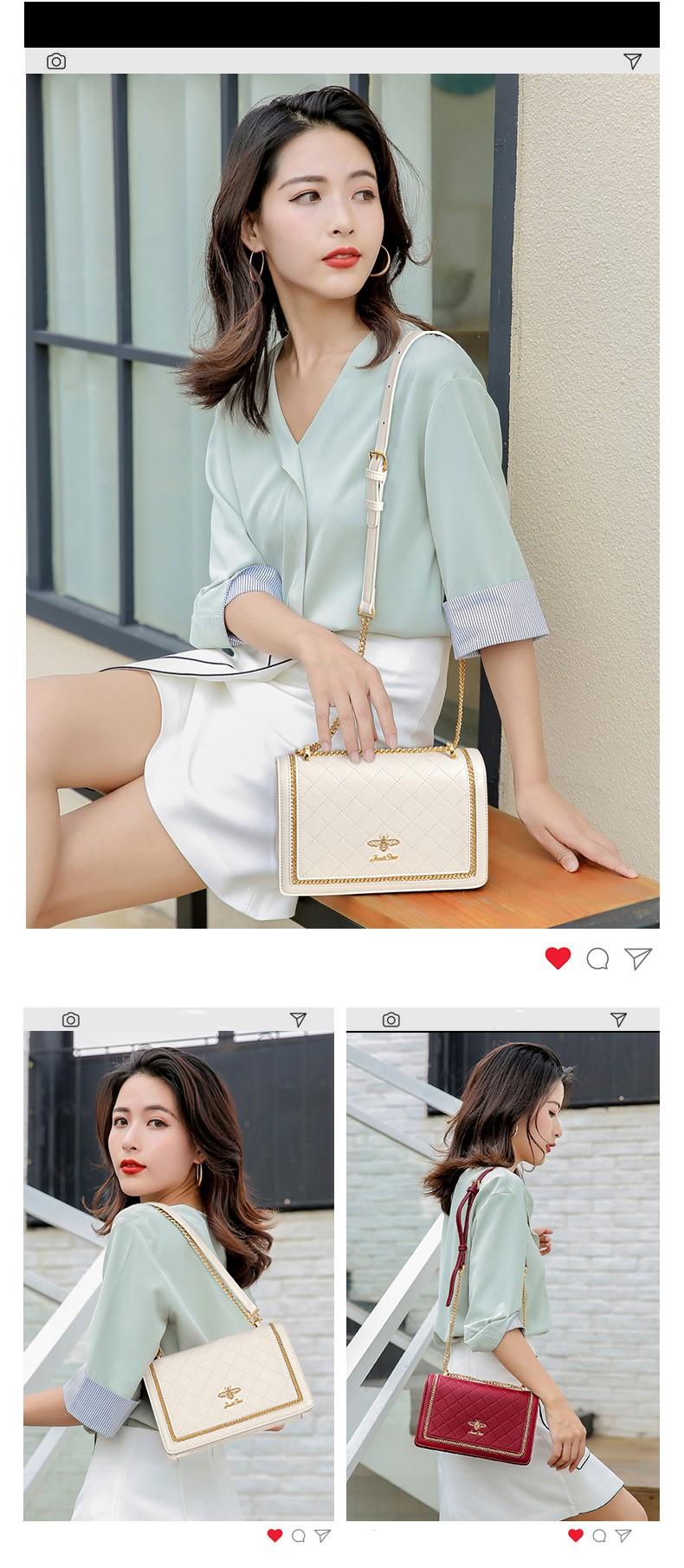 Túi nữ thời trang thiết kế Just Star Virgo VG587