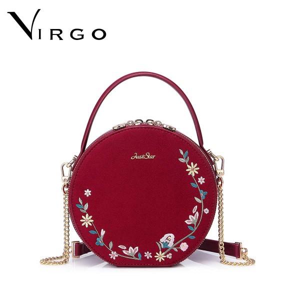 Túi đeo chéo nữ hình tròn Just Star Virgo VG630